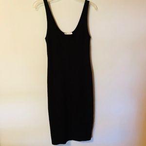 Black Tank Dress Medium Long